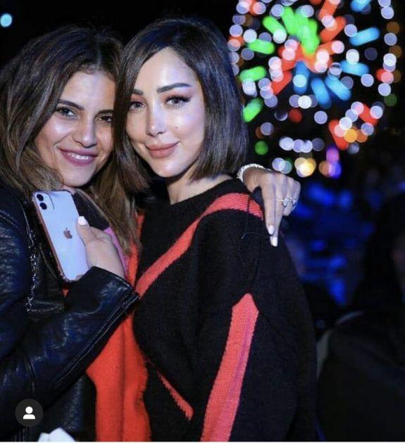 بسمة بوسيل في حفل تامر حسني بعد العودة - صورة