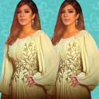 نبيل شعيل يسخر من فستان أصالة - فيديو