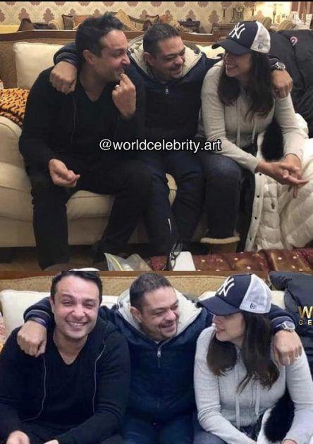 حقيقة تصالح ياسمين عبد العزيز مع شقيقها