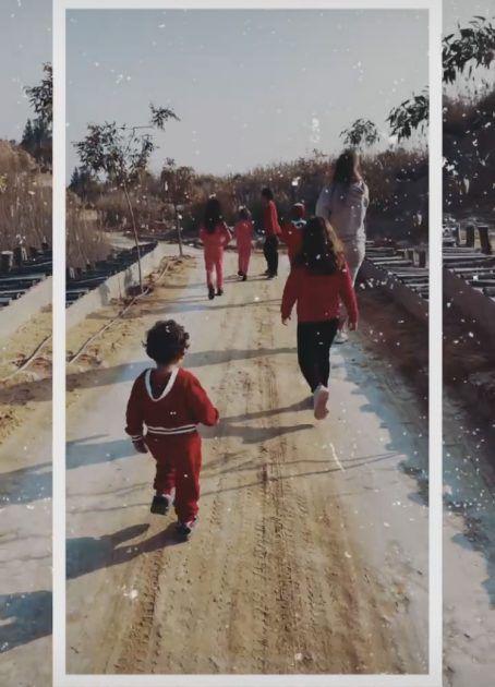 أول صورة لأدم تامر حسني