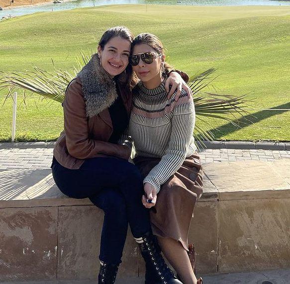 أصالة تتعافى مع ابنتها شام - صورة