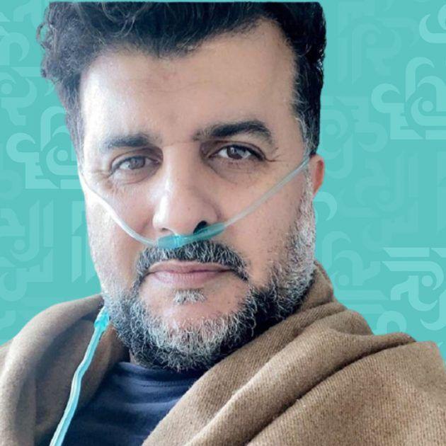 بعد تلقيه لقاح كورونا مشاري البلام يصاب وفي العناية المركزة