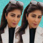 زارا البلوشي تؤكد زواجها وتسرب صور زوجها - صورة