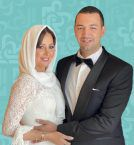 أول صورة لحلا شيحة مع زوجها الداعية وارتدت الحجاب!