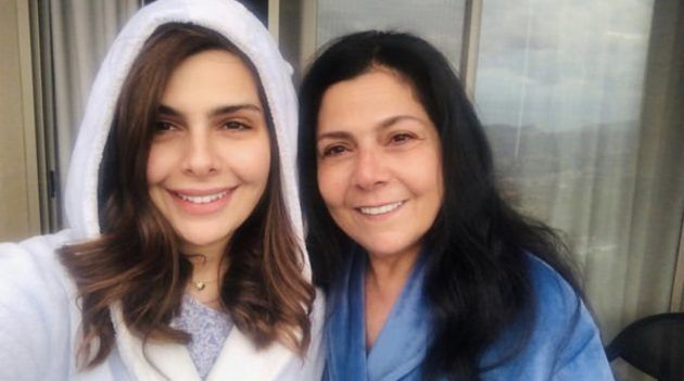 صباح الجزائري وابنتها