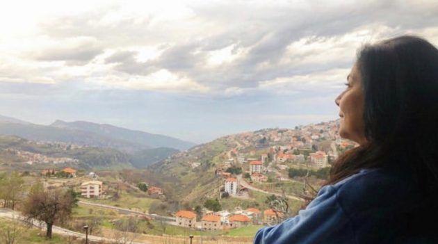 صباح الجزائري وجمال لبنان