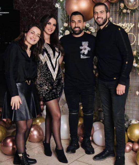 أول صورة واضحة لشام الذهبي مع حبيبها