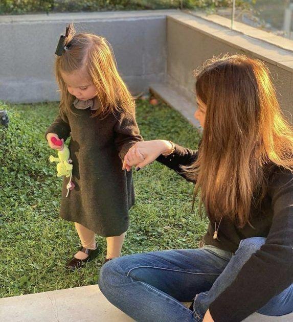 ليا ابنة نانسي عجرم مثل الباربي! - صورة