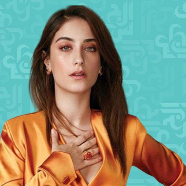 هازال كايا أجمل والنمش على وجهها - صورة