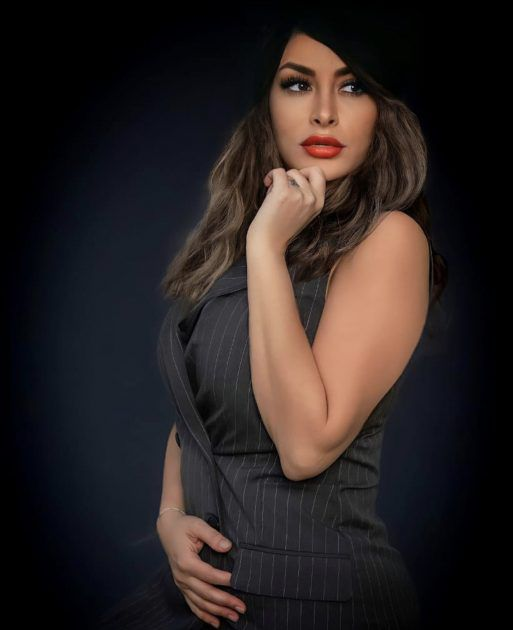 الصورة التي نشرتها ديما بياعة واعتقدوا أنها حامل
