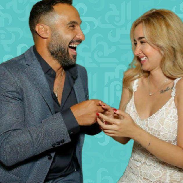 أحمد فهمي الأنيق ما سرّ سعادته مع زوجته هنا الزاهد؟ - صورة