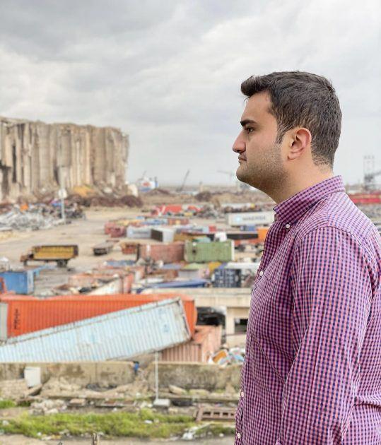 التركي بوراك حزين على بيروت