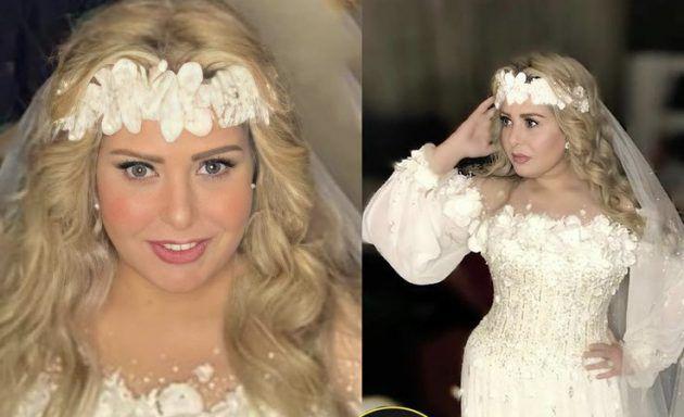 صابرين بفستان الزفاف وعادت شابة! - صورة