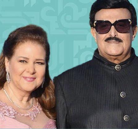 كورونا تهدد سمير غانم ودلال عبد العزيز!