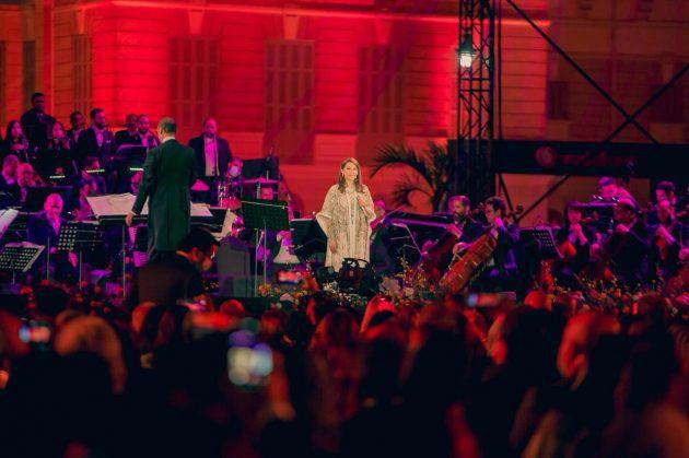 ماجدة الرومي بحفل في مصر