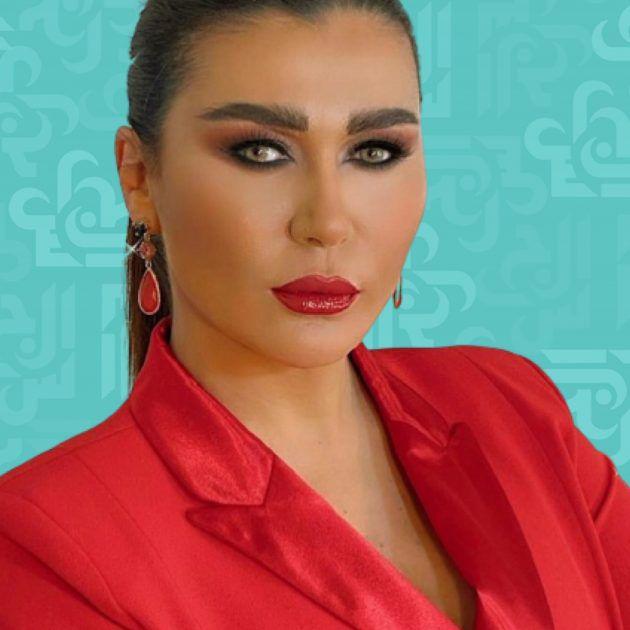 نادين الراسي قبّلها خطيبها من الخلف وما أنواع القبلات؟ - صورة
