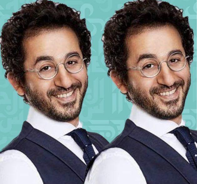 أحمد حلمي وعمرو دياب بنفس الجاكيت وكيف علّق؟