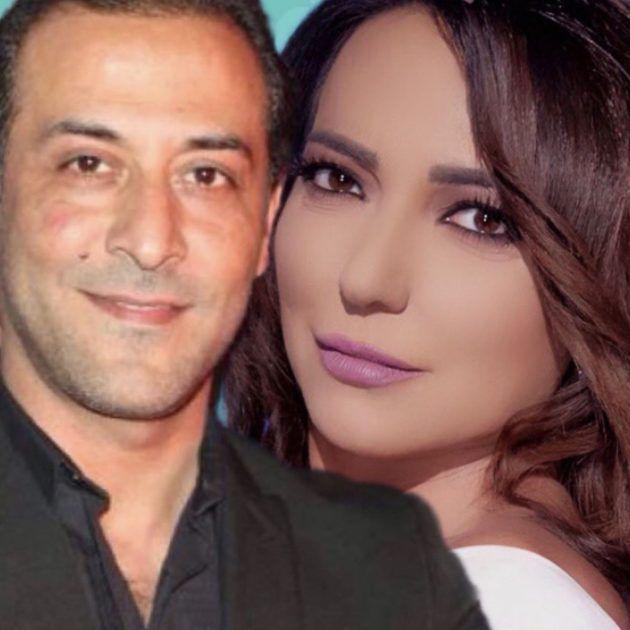 أمل عرفة تدافع عن مشهد طليقها عبد المنعم عمايري الجريء - صورة