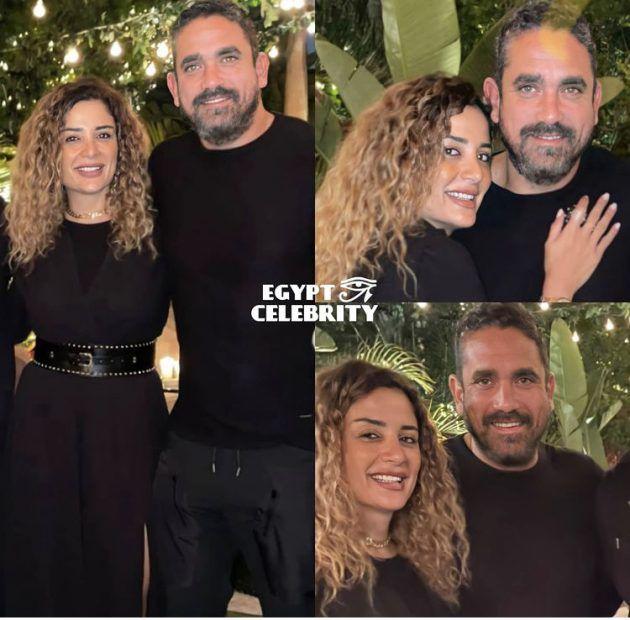 أمير كرارة يطل مع زوجته وحبهما صادق! - صورة