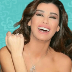 نادين الراسي تلتقي بإبنيْها - صورة