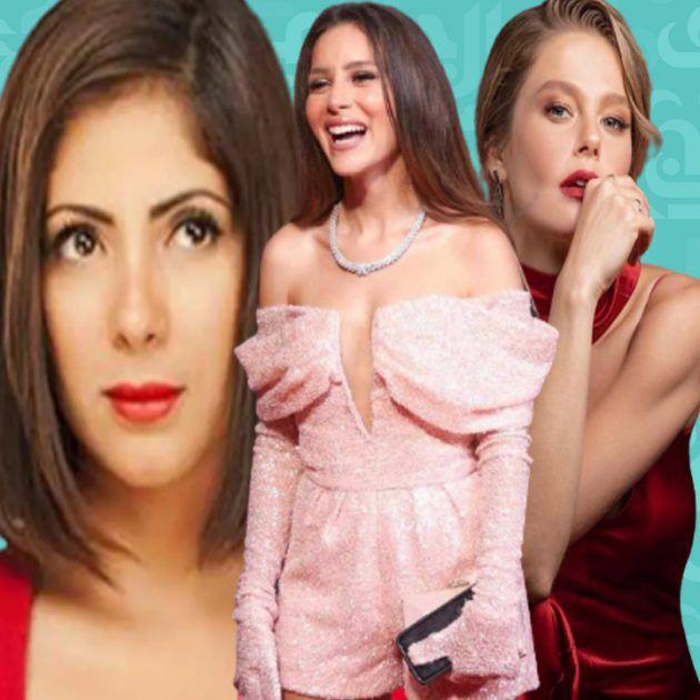 جميلة عوض زعيمة الدراما للشابات بين التركية بورجو ومنى زكي