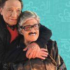 عادل إمام يودع صديق عمره سمير غانم بألم