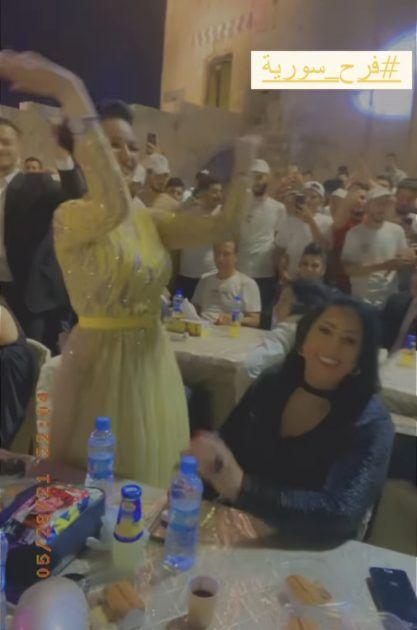 صفاء سلطان ترقص بفرح
