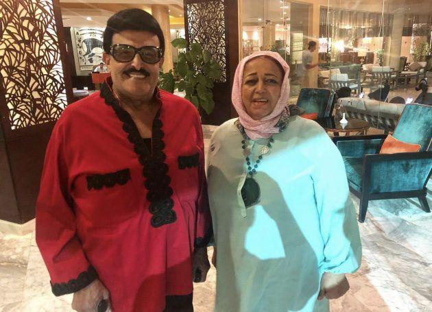 والدة حسن الرداد وسمير غانم