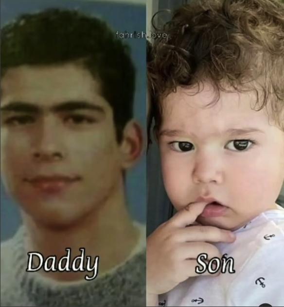 بوراك أوزجيفيت من مراهقته وابنه