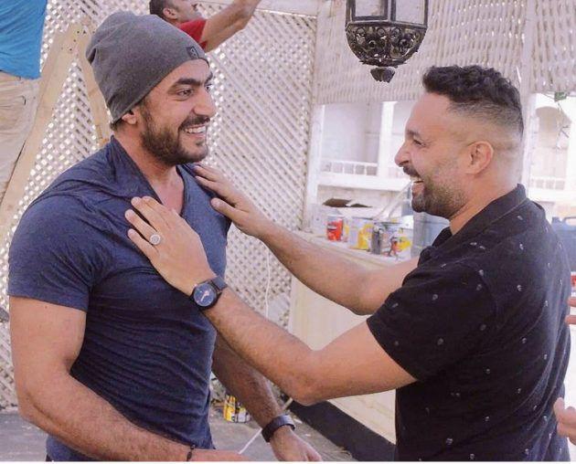 شقيق ياسمين عبد العزيز يتصالح مع زوجها - صور