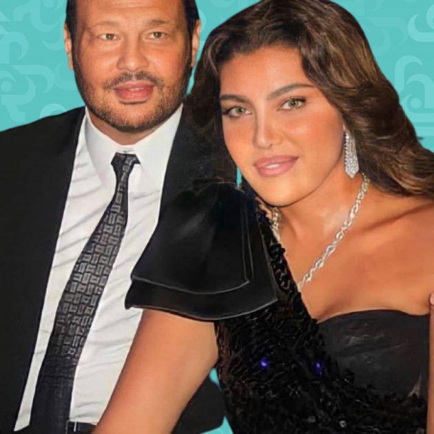 بوسي شلبي تضع يدها على بطن ريهام حجاج