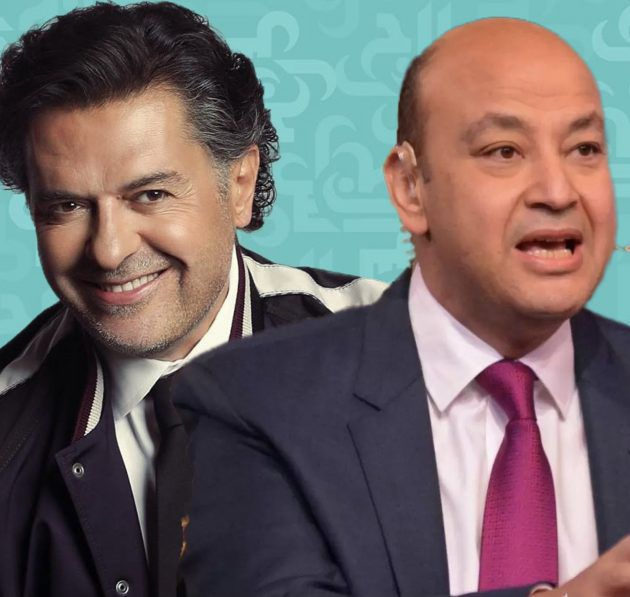 عمرو أديب يبكي لبنان وراغب علامة يشتمهم! - فيديو