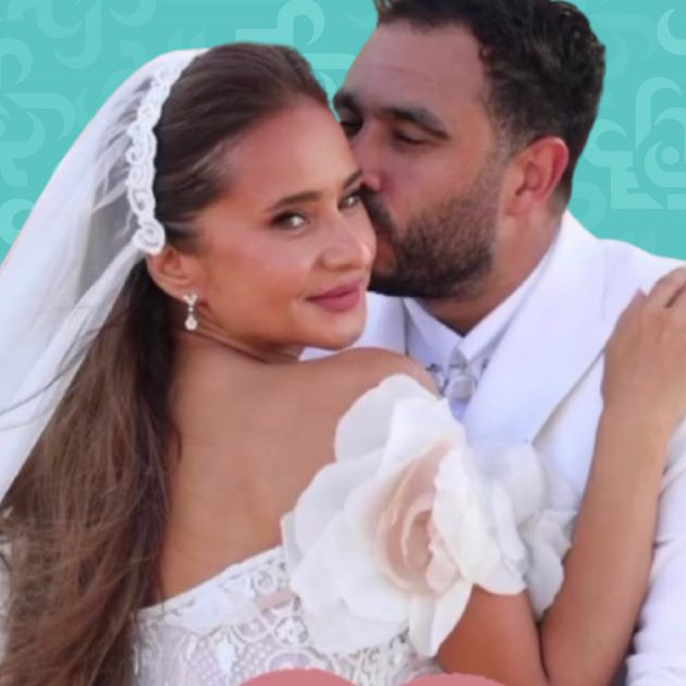 نيللي كريم منعت والدتها الروسية من حفل زفافها؟