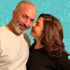 صباح الجزائري يدًا بيد مع زوجها اللبناني في سوريا - فيديو