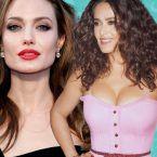 ماذا فعلت أنجلينا جولي بسلمى حايك - فيديو