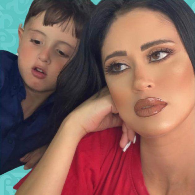 ليان بزلميط تقبل ابنها بفمه وما مدى صحتها النفسية؟