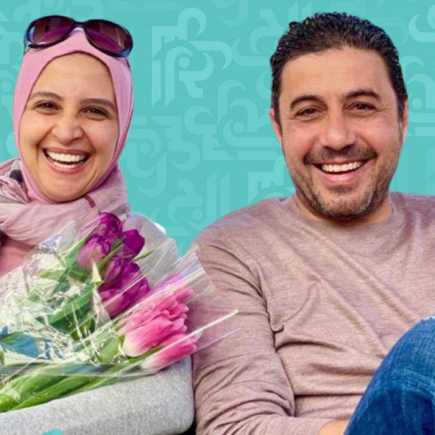 حنان الترك بين أحضان زوجها وما علاقتها بالإرهاب؟ - صورة